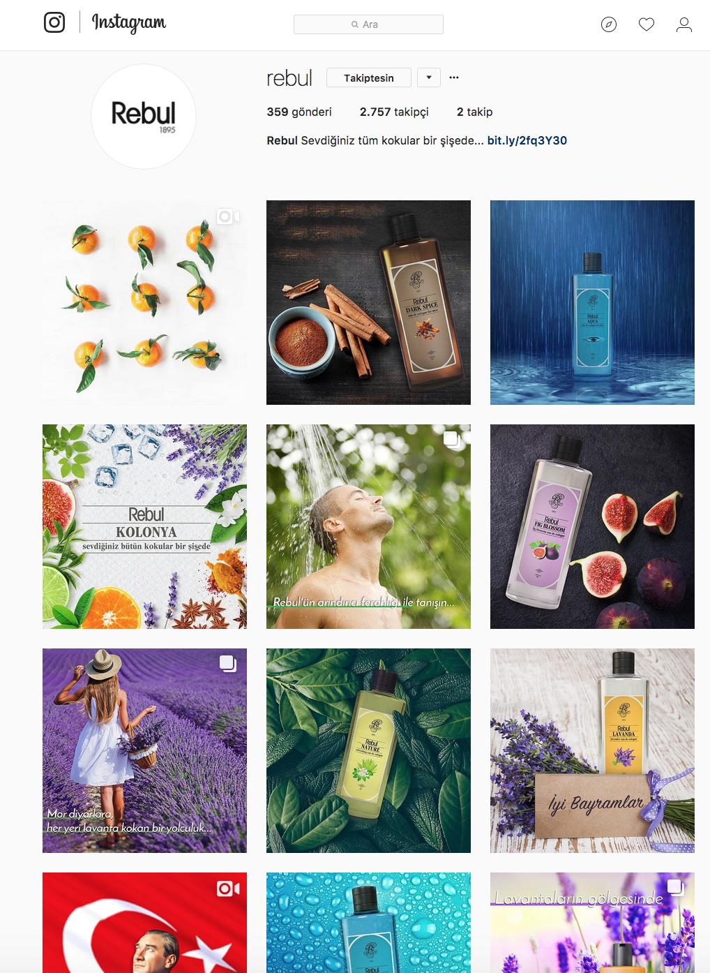 Rebul Facebook/Instagram Content Management